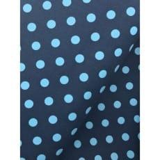 Cord Punkte, Feincord blau/hellblau