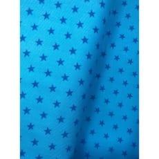 Cord Sterne Feincord Stoff türkis Breite 145 cm ab 50 cm
