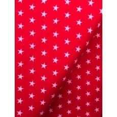 Feincord Sterne rot