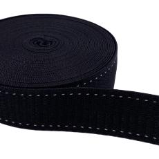 Hochwertiges Gurtband 25 mm schwarz