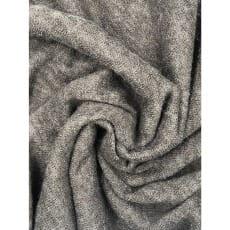 Angora-Jersey Stoff grau