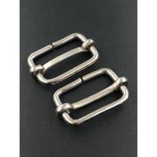 Metallschieber 30 mm silber