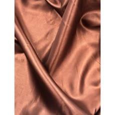 Futterstoff Polyester Satin mittelbraun ab 1m