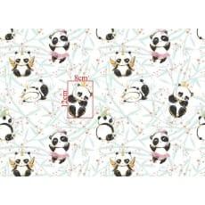 Baumwollstoff Kinderstoff Panda Breite 160cm ab 50 cm
