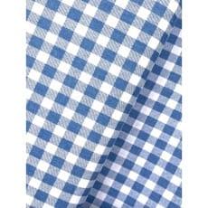 Baumwollstoff Dekostoff Denim Karo hellblau
