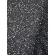 Tweed Stoff Doubleface Salz und Pfeffer anthrazit meliert made in Italy