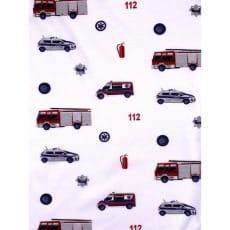 Single Jersey Kinderstoff Autos