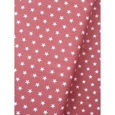 Baumwollstoff Dekostoff Sterne blush