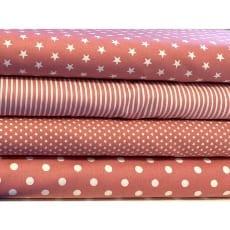 Stoffpaket Stoffset Baumwolle blush