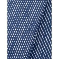 Baumwollstoff Dekostoff Streifen jeansblau