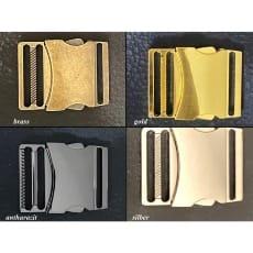 Steckschnallen 40 mm Steckschließer Metall