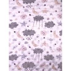 Minky Fleece Noppen Microfleece Muster