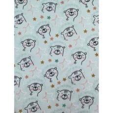 Flanell Stoff Baumwolle bedrückt Kinderstoff