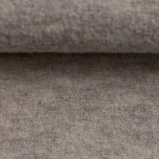 Schurwolle gekochte Wolle meliert beige