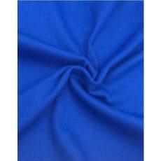 Bündchen, gerippt Schlauch 100cm ab 50 cm royalblau
