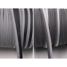 Reflektierendes Paspelband zum Einnähen Reflektorband 10 mm 3 Farben