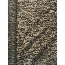 Strickstoff Strickfleece Stoff Fleece meliert sand