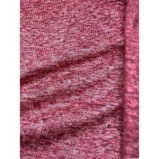 Strickstoff Strickfleece Stoff Fleece meliert hellpink ab 50cm