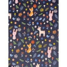 Jersey Stoff Kinderstoff bedruckt Tierchen Breite 148cm