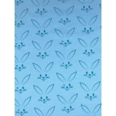 Jersey Stoff Kinderstoff Kaninchen hellblau Breite 150 cm ab 50 cm