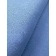 Bündchenstoff Schlauch Meterware uni jeansblau
