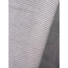 Cord Stoff Breitcord Baumwolle hellgrau Breite 142 cm ab 50 cm