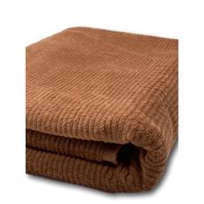 Cord Stoff uni camel elastisch Breite 140 cm