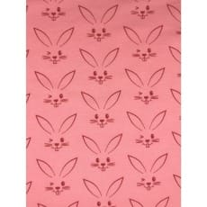 Jersey Stoff Kinderstoff Kaninchen apricot Breite 150 cm ab 50 cm