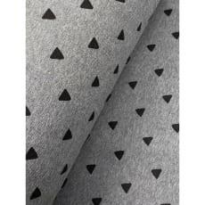 Bündchenstoff Schlauch Meterware Muster Dreiecken ab 50cm