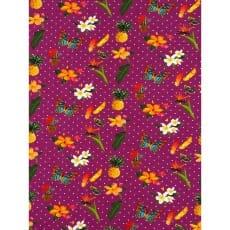 Jersey Stoff Kinderstoff Blümchen lila Breite 150 cm ab 50 cm