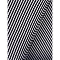 Bündchenstoff Schlauch Meterware Streifen schwarz ab 50cm
