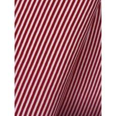 Bündchenstoff Schlauch Meterware Streifen rot ab 50cm