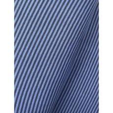 Bündchenstoff Schlauch Meterware Streifen dunkelblau/jeans ab 50cm