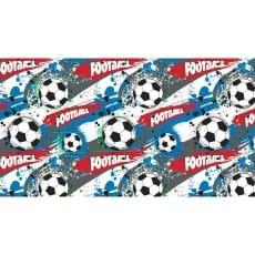 Baumwollstoff Kinderstoff Fußball Breite 160cm ab 50 cm