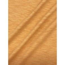 Jersey Baumwolle-Leinen uni meliert senfgelb