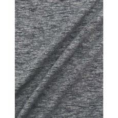 Jersey Baumwolle-Leinen uni meliert dunkelgrau