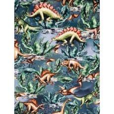 Single Jersey Kinderstoff Dinos Digitaldrück Breite 155cm ab 50 cm
