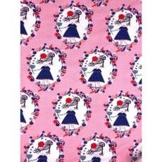 Jersey Stoff Kinderstoff Mädchen rosa Breite 150cm