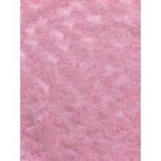 Pelz Stoff Rosa Fleece Fellimitat Breite 155 cm ab 50 cm
