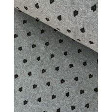 Bündchenstoff Schlauch Meterware Muster Pfeile ab 50cm