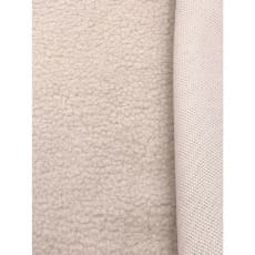 Pelz Stoff Schaffell Fleece Fellimitat Lammfell ecru Breite 150 cm ab 50 cm