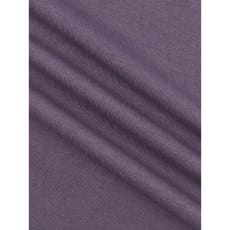 Bündchenstoff Schlauch Meterware uni meliert ab 50cm violett