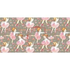Baumwollstoff Kinderstoff Ballerina Breite 160cm ab 50 cm