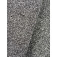 Stoff Leinen Baumwolle uni meliert schwarz Dekostoff Breite 135cm