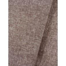 Stoff Leinen Baumwolle uni meliert taupe Dekostoff Breite 135cm