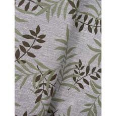 Stoff Leinen Baumwolle Dekostoff Blätter Breite 135cm