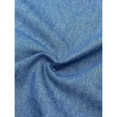 Jeans Stoff 100% Baumwolle uni blau Breite 145cm ab 50 cm