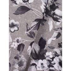 Stoff Leinen Baumwolle Dekostoff Blumen Breite 135cm