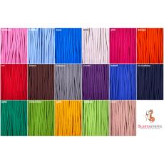 Kordel Baumwolle 8mm rund Schnur Turnbeutel Seil 17 Farben