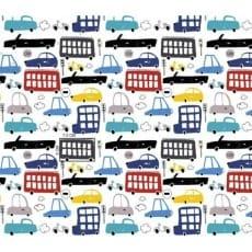 Baumwollstoff Dekostoff Kinderstoff Autos Breite 160cm ab 50 cm